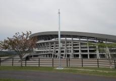 宮城県総合運動公園 カメラ用支柱
