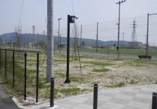 宮城県某運動公園 カメラ用支柱