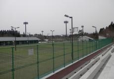 青森県七戸地区 テニスコ-ト照明柱