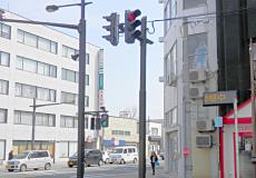 青森県 弘前駅前通り